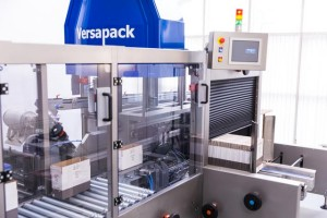 Versapack - Integrated case erector and packer